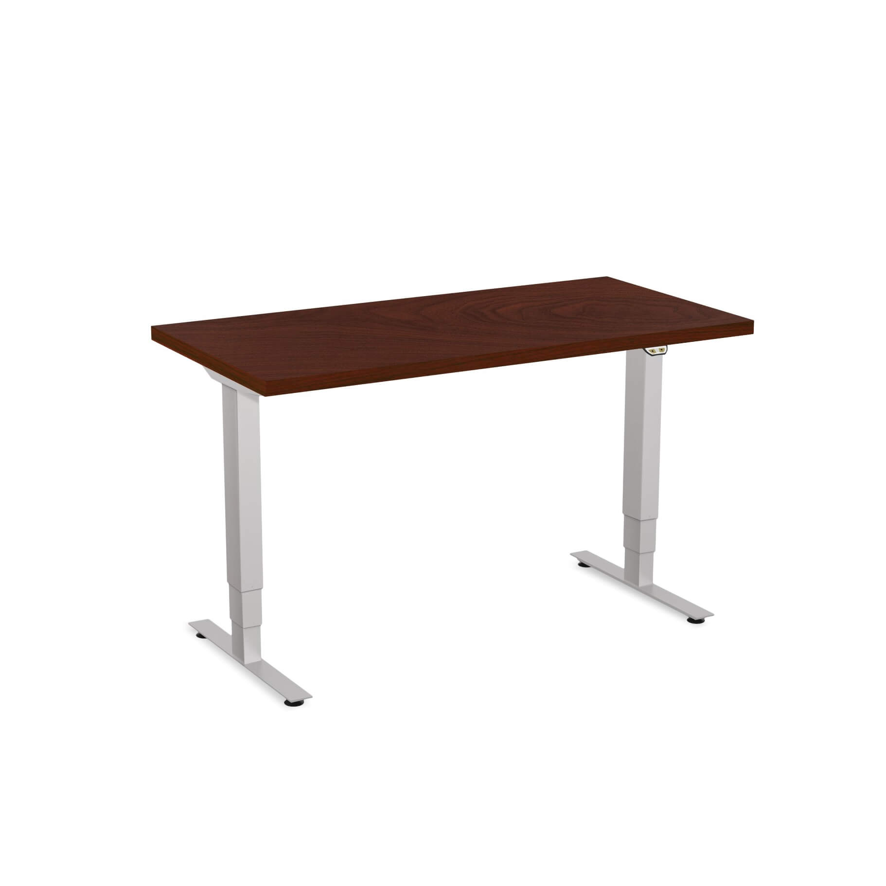 Sit stand desk adjustable CUB 1D PATR 2448 MH EPS 1
