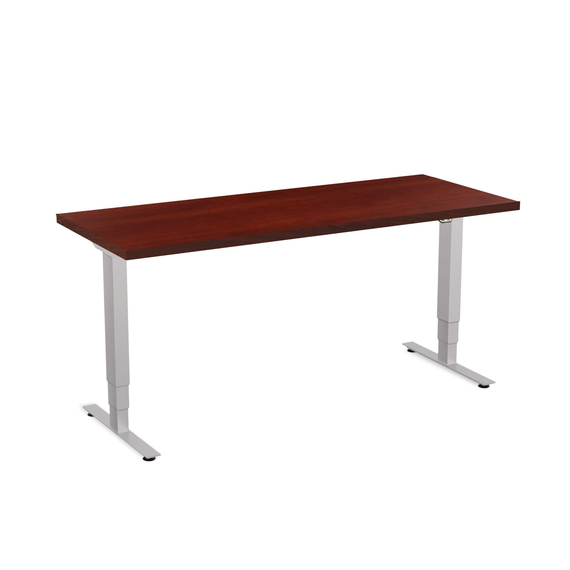 Sit stand desk adjustable CUB 1D PATR 2460 CH EPS