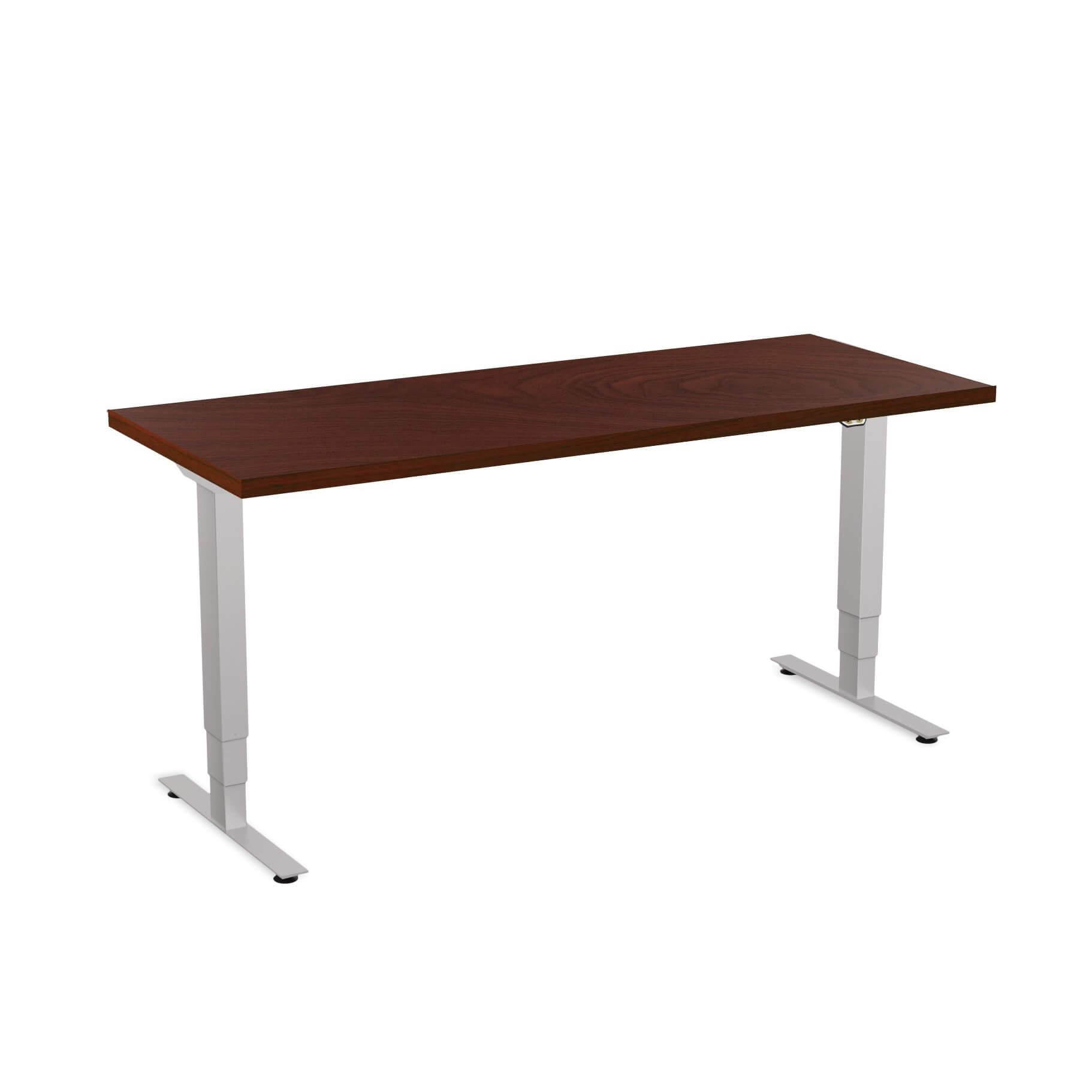 Sit stand desk adjustable CUB 1D PATR 2460 MH EPS