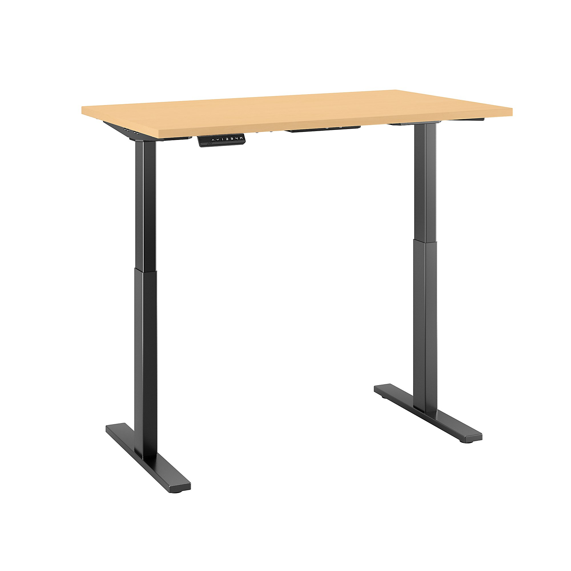 Sit stand desk adjustable CUB M6S4830ACBK FBB