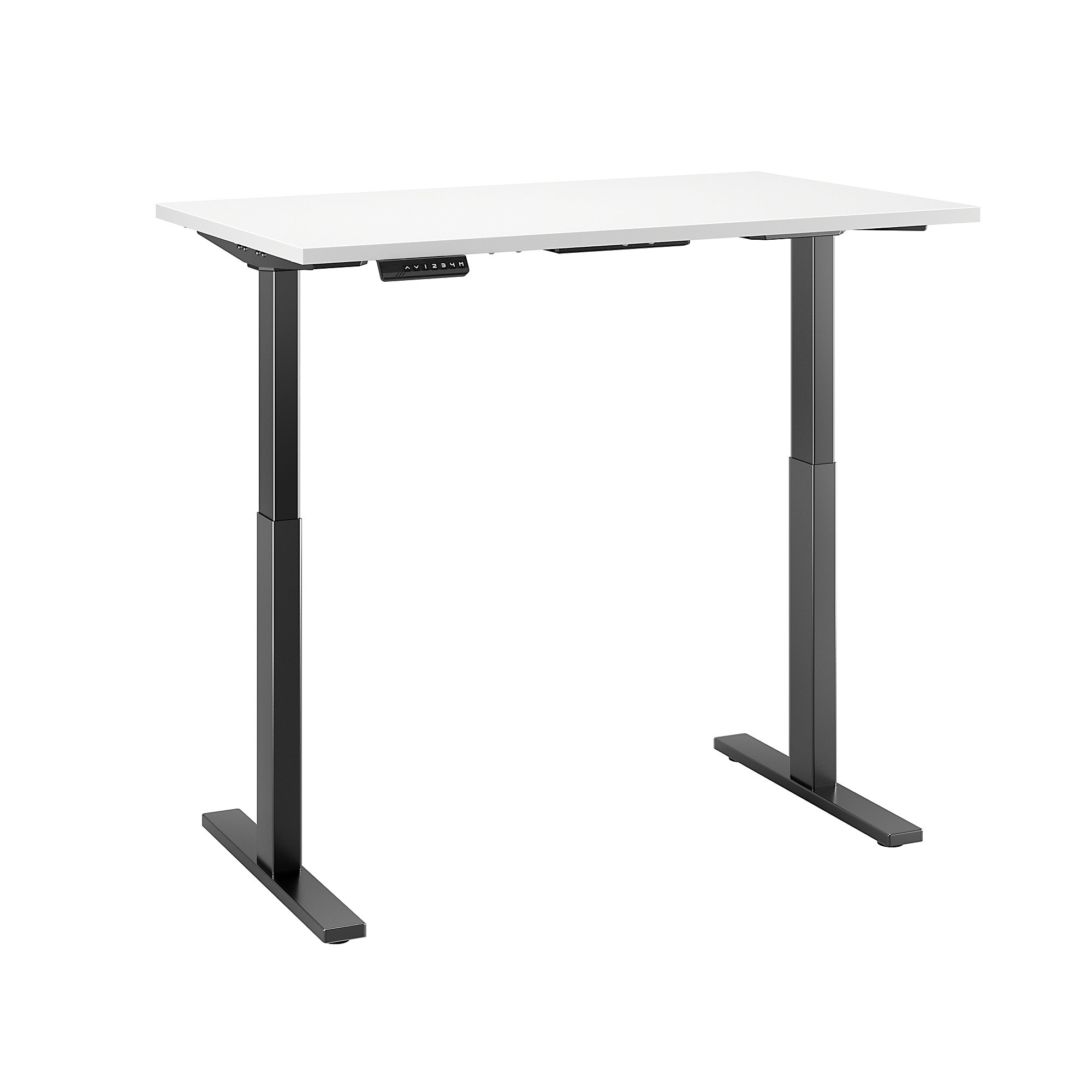 Sit stand desk adjustable CUB M6S4830WHBK FBB