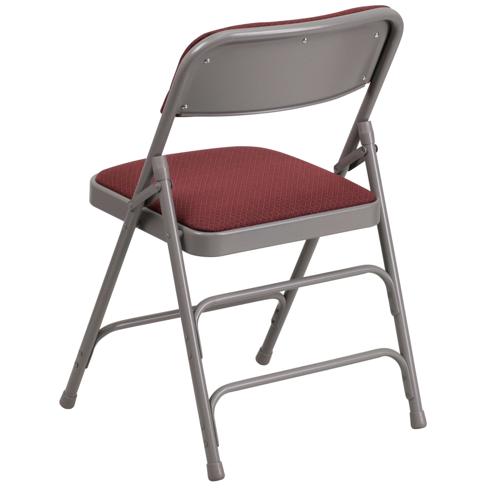 Small folding chair rear view