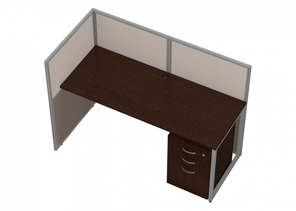 Small office furniture aerial