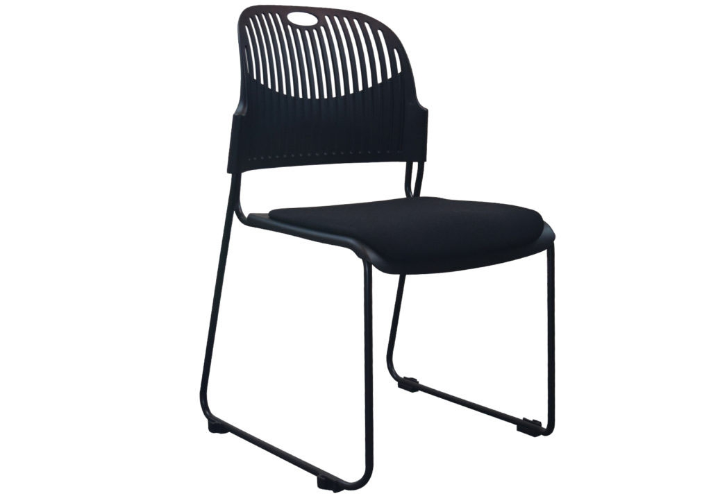 Stackable chairs CUB OPS 3133 BLK SPO 1