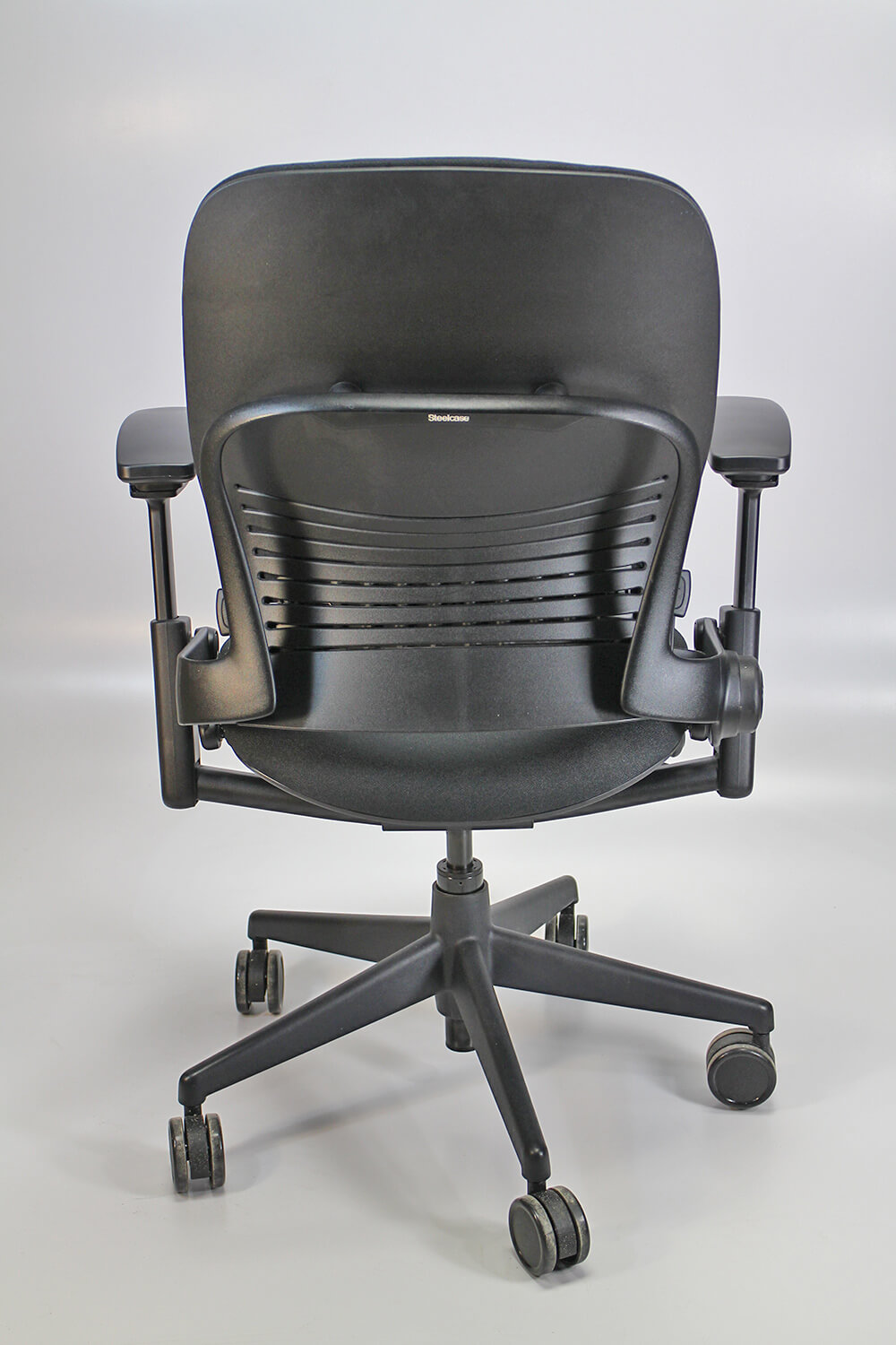Steelcase leap v2 back view
