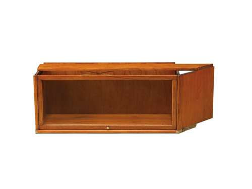 Studio globe Wernicke sectional bookcase corner filebinder library left