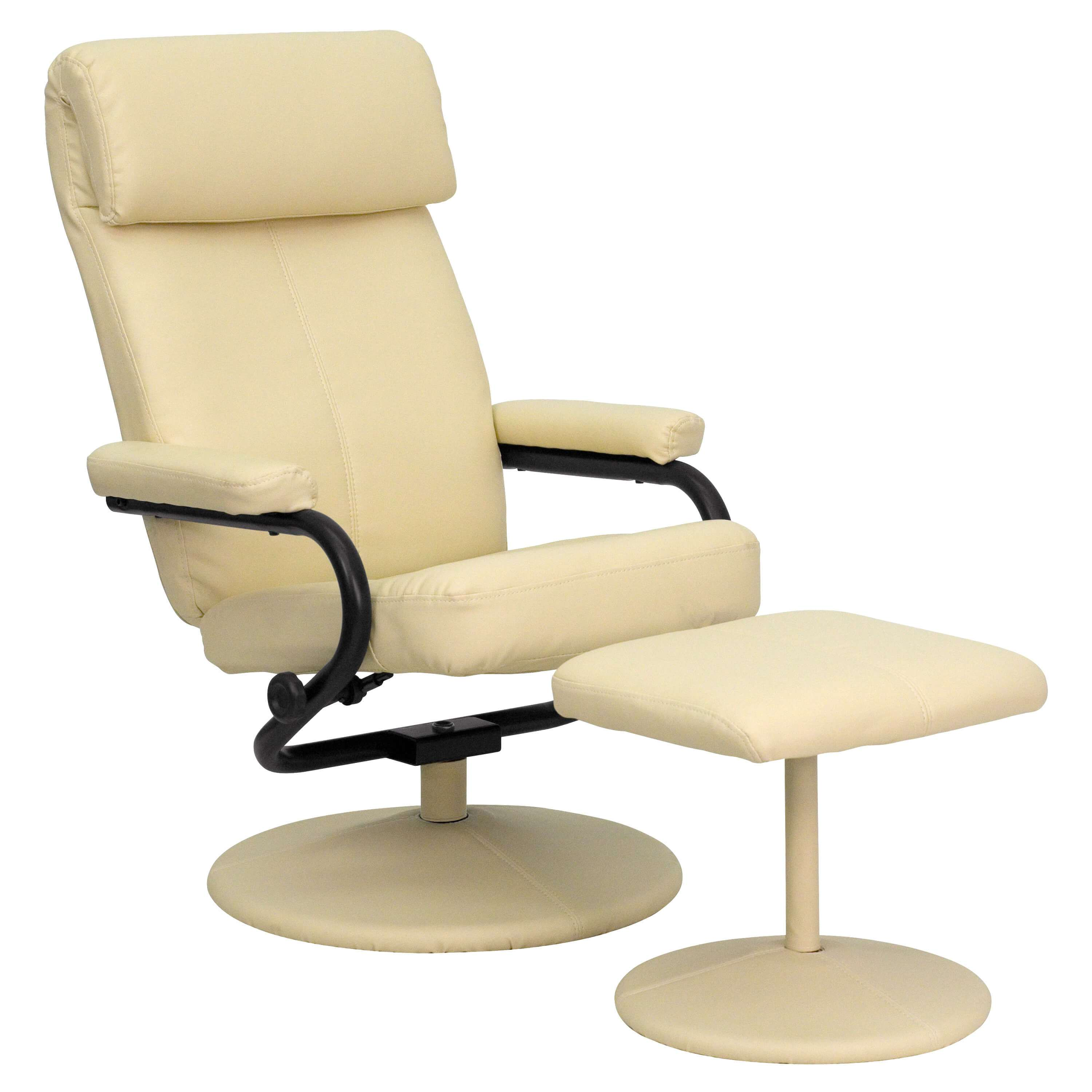 Swivel recliner CUB BT 7863 CREAM GG FLA
