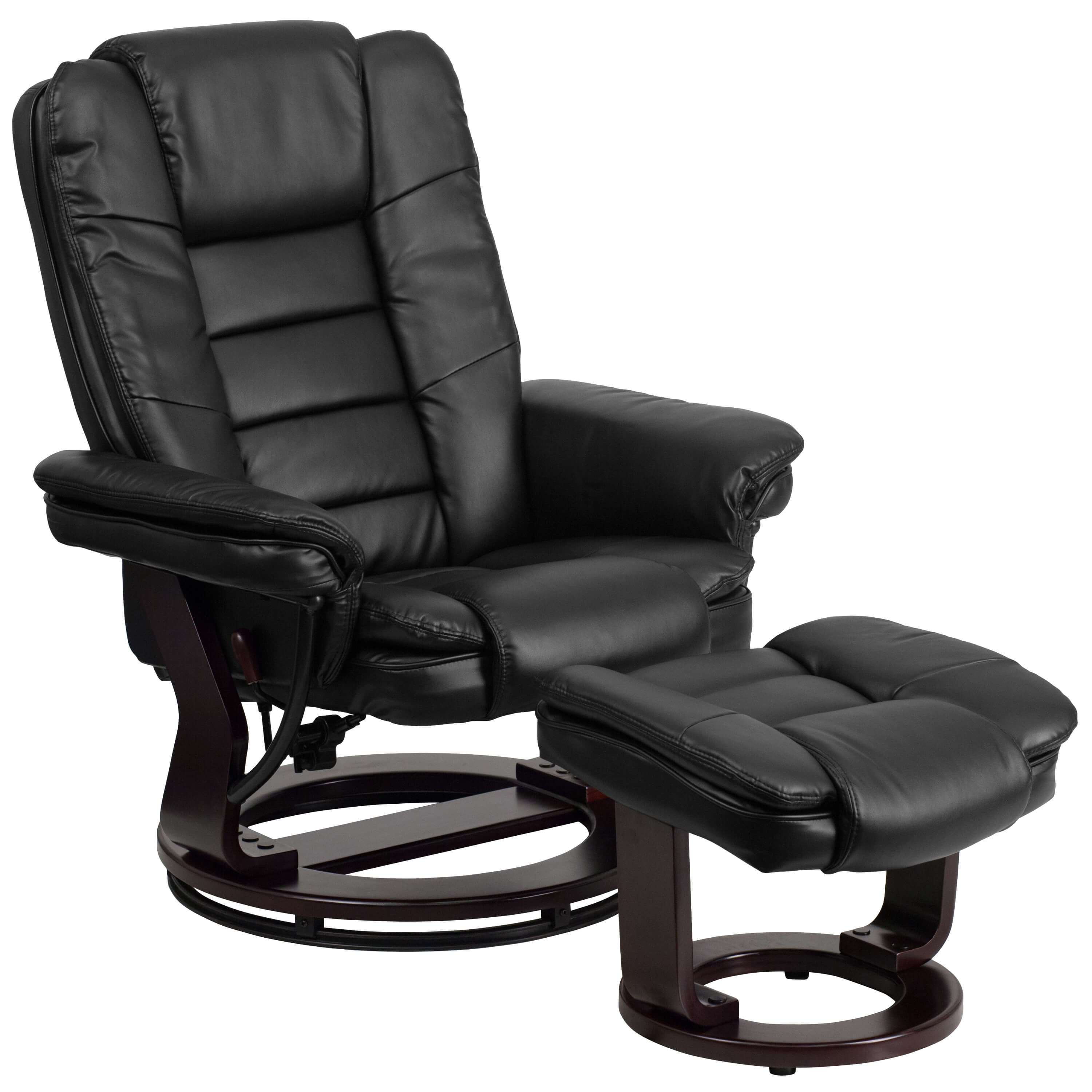 Swivel recliner swivel recliner CUB BT 7818 BK GG FLA