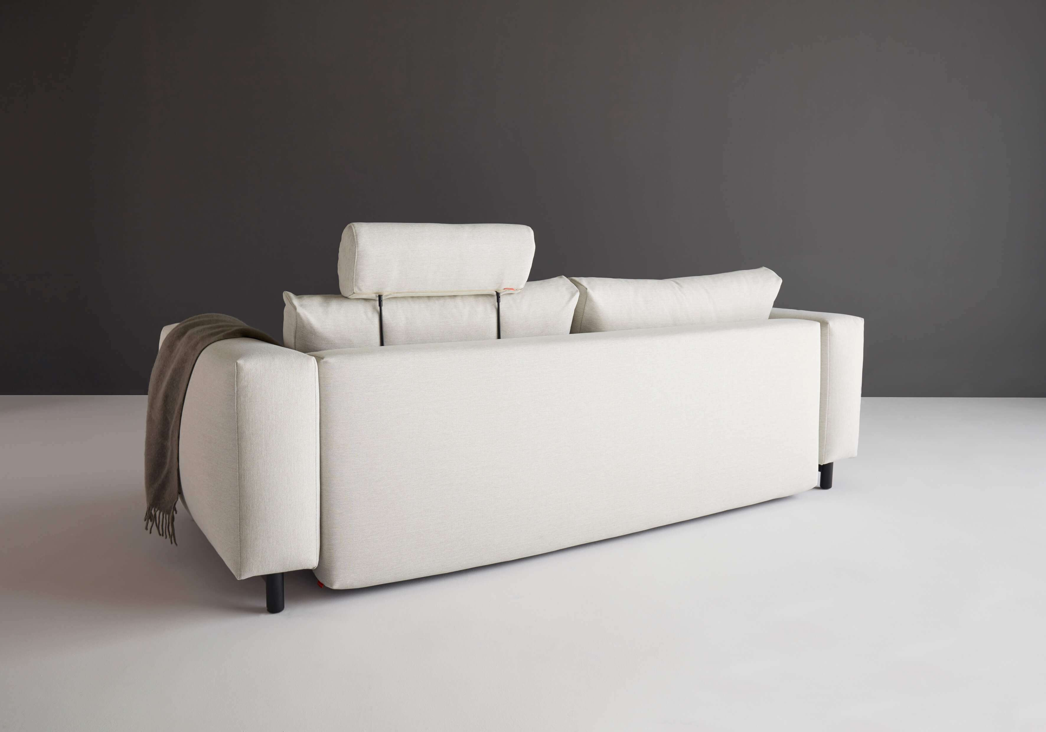 Trendy sofa bed rear view