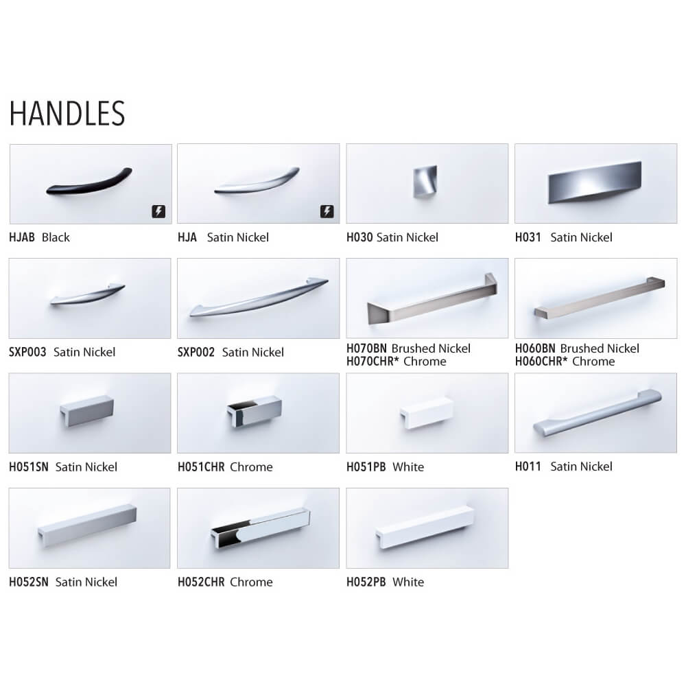 Unique office furniture handles