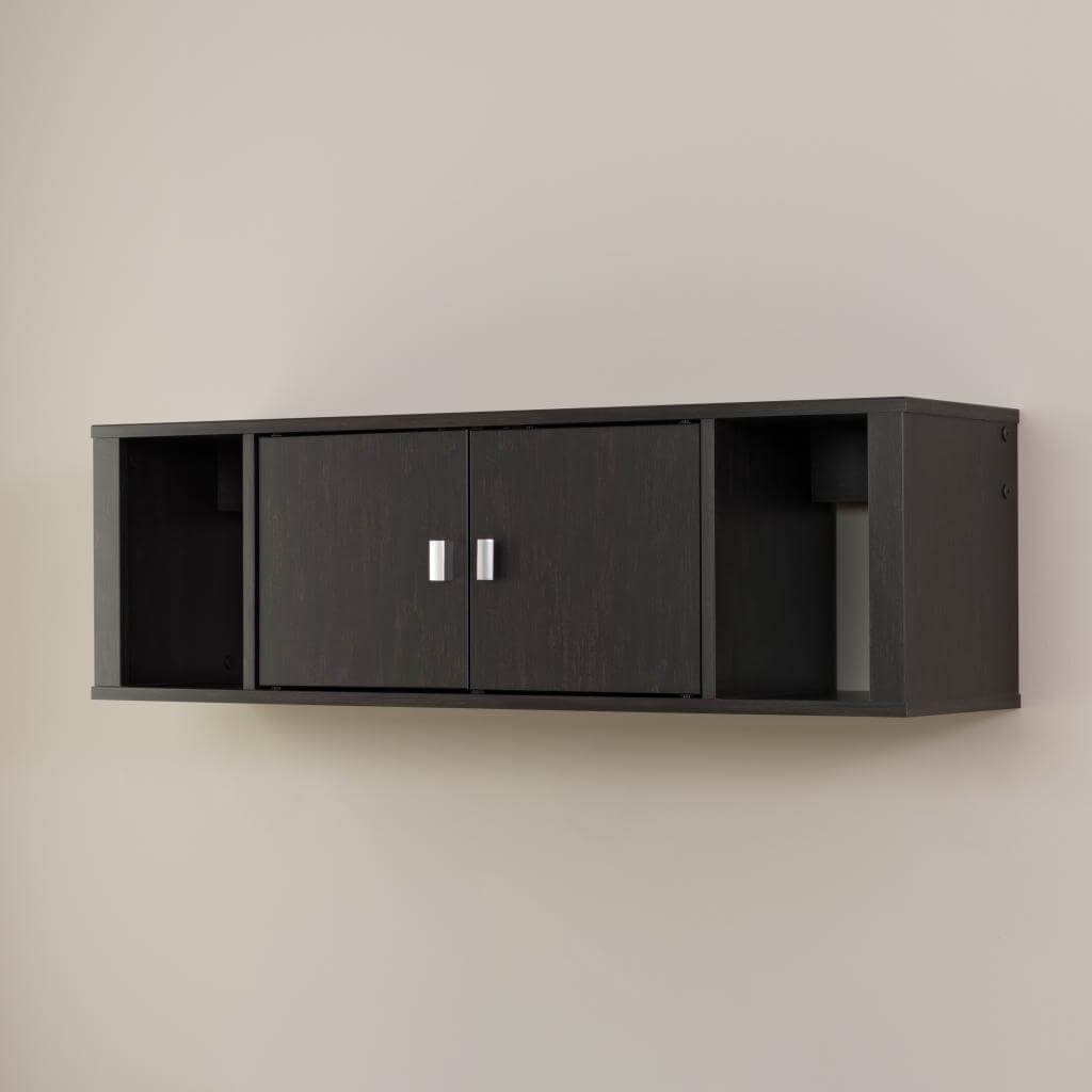 Wall mounted desk hutch environmental 2