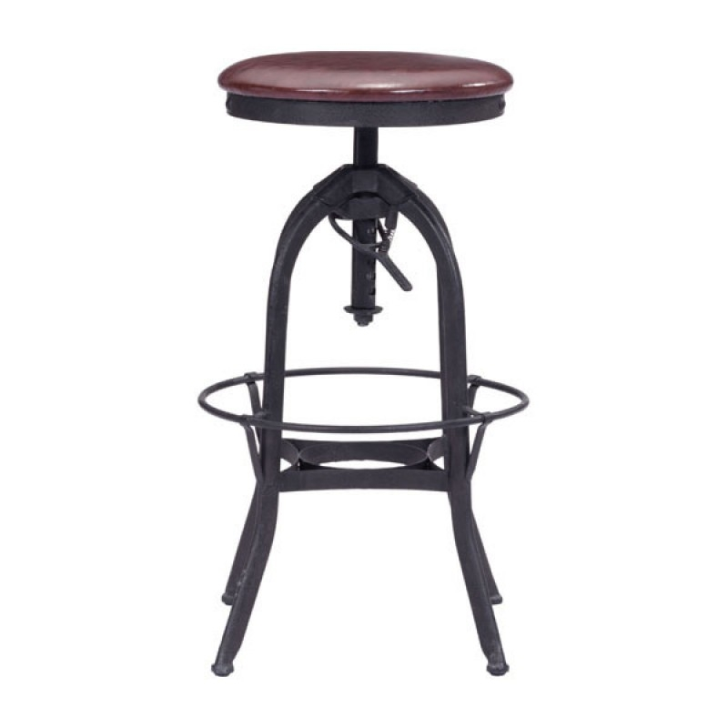 Western bar stools side view