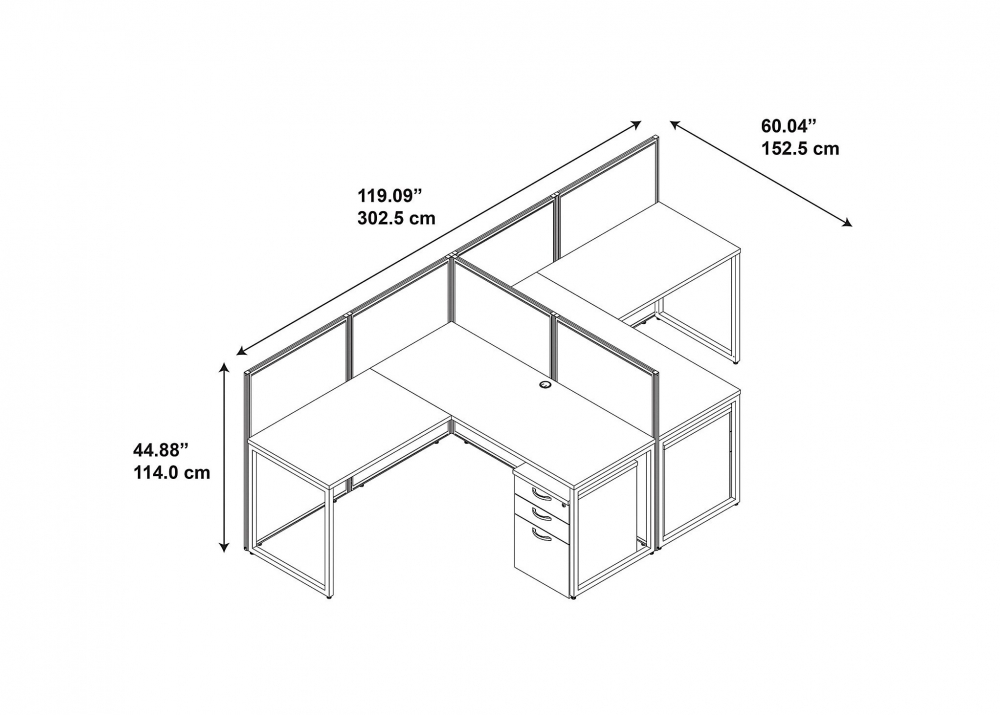 Workstation Table Dimensions Www Pixshark Com Images