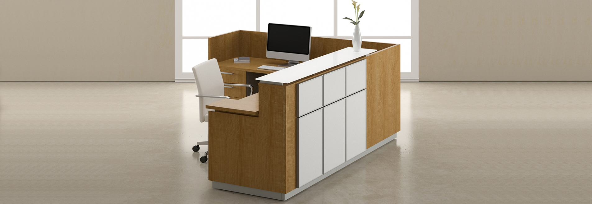 Office Reception Desk L Shaped Reception Desk Wood Reception Desk Custom Reception Desk