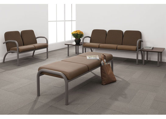 Aubra medical chairs and tables can complete any healthcare facility.