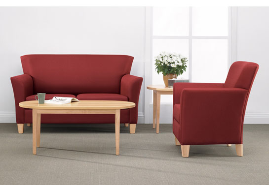Sentator lounge series for medical waiting rooms