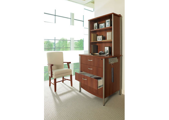 Sonoma hospital dresser and hutch