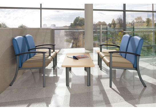 Strand medical office furniture suits multiple applications from patient rooms to waiting rooms.