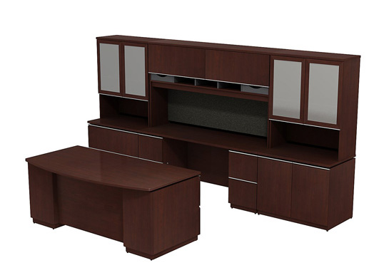 Bush Business Furniture   Bush Office Desk Milano