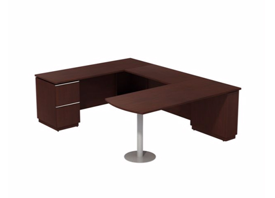 bush business furniture bush office desk milano - Bush Office Furniture