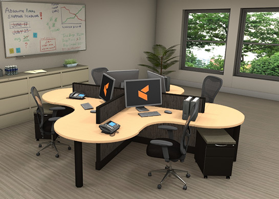 Office Furniture Workstations #X1