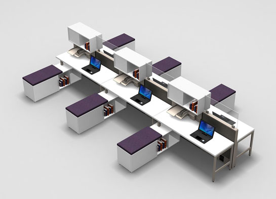 Office Furniture Workstations Msf