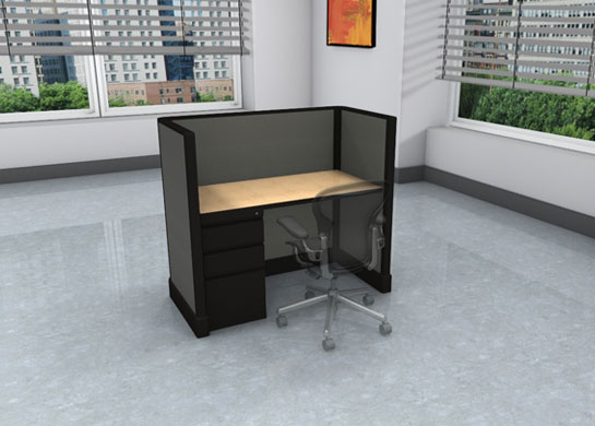 Call center images - low privacy - file drawers