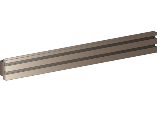 call center furniture accessories - rail bar