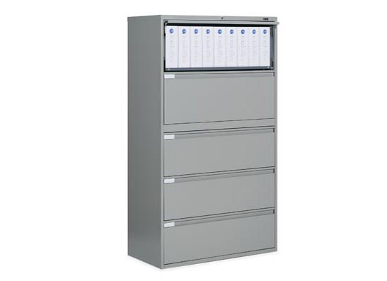 5 Drawer File Cabinet, Global 9300P Lateral Filing Cabinets