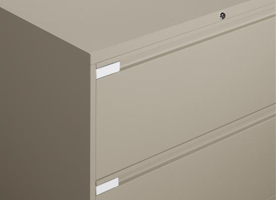 Small Filing Cabinet   Looped Full Pull Handles