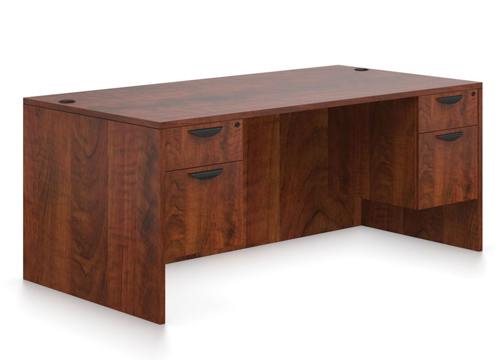 Pedestal desk - OTG Laminate Desk Furniture