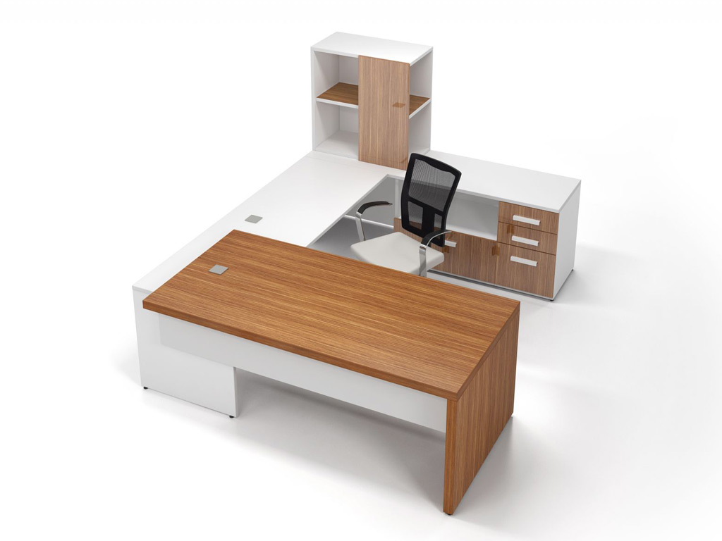 U desk - Access Desk Furniture