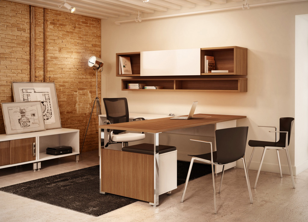 Contemporary Office Desks - Level Desk Furniture