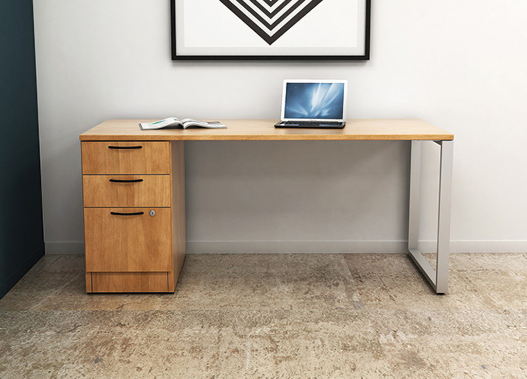 Small office desks - IOF Custom Desk Furniture