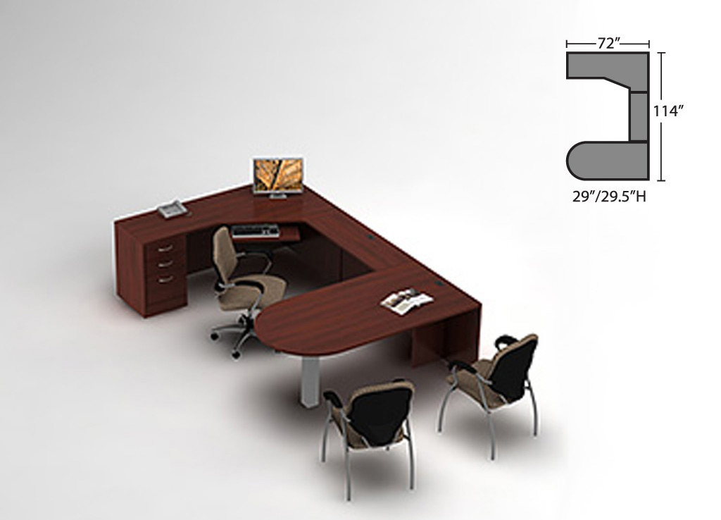Contemporary Office Desk - Zira Desk Furniture