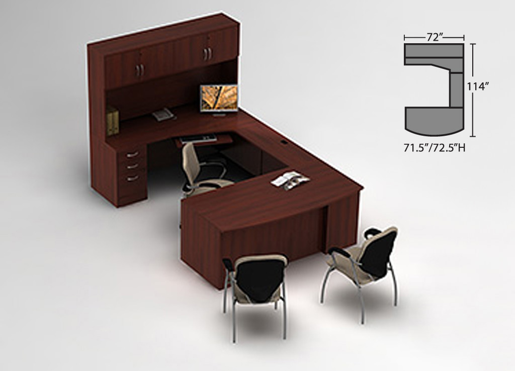 Executive office desks - Zira Desk Furniture