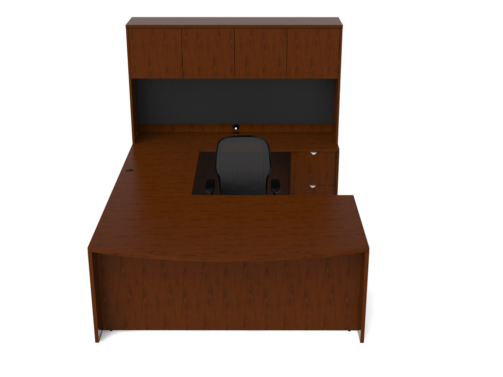 Solid wood office furniture - Jade Desk Furniture (Veneer Tops)