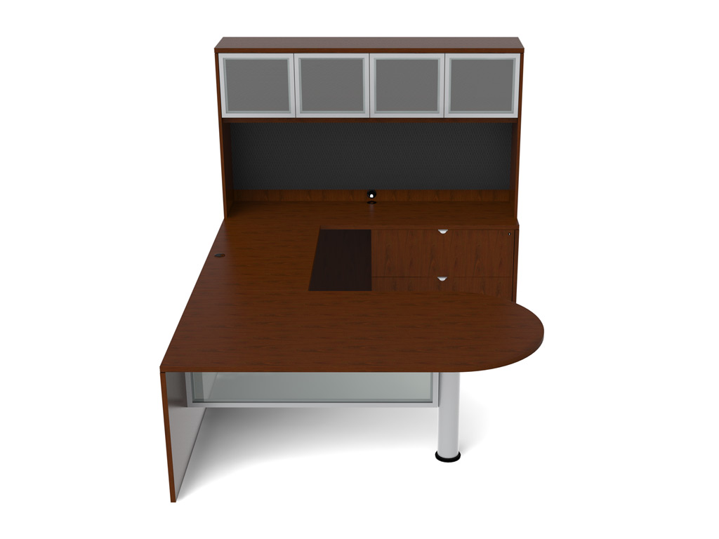 Wooden office furniture - Jade Desk Furniture (Veneer Tops)