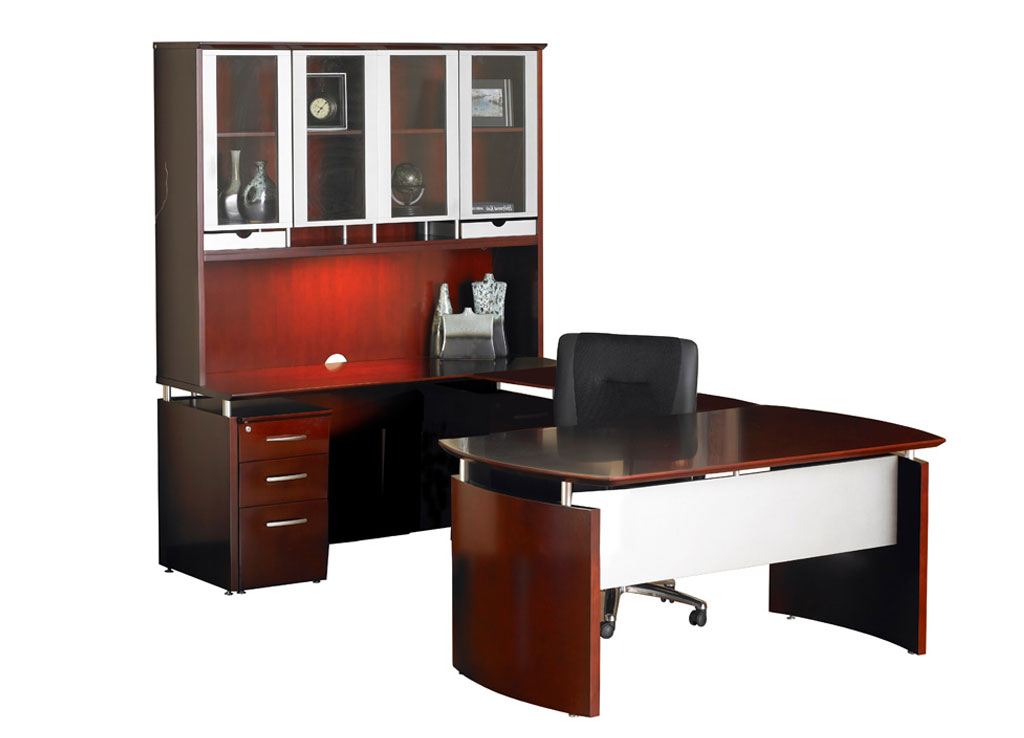 Mayline Office Furniture   Napoli Desk Furniture