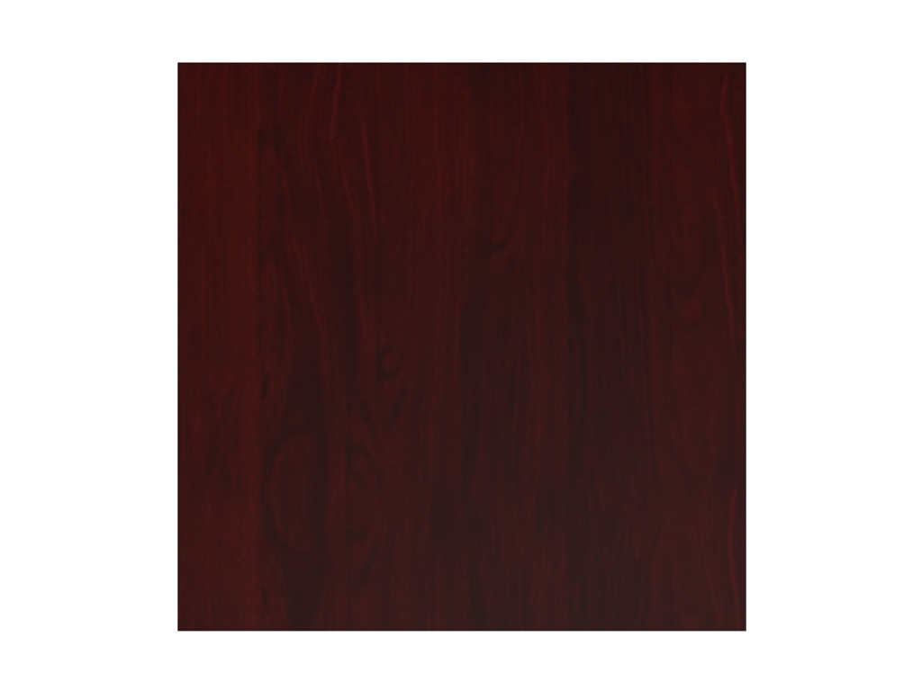 Wood office desk from Cherryman - Shown in Henna Mahogany wood