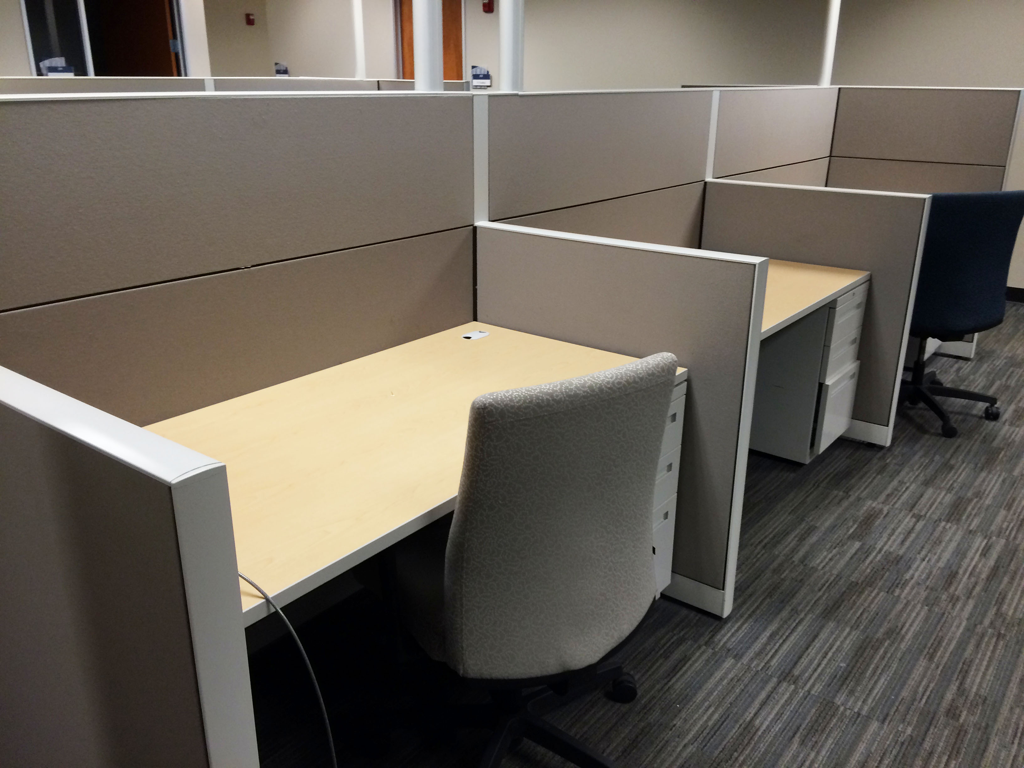 Allsteel Terrace DNA 3x5 Used fice Cubicles Used Cubicles