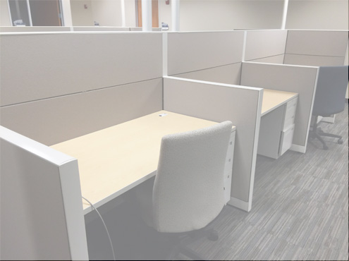 Call Center Furniture - Terrace DNA Used Cubicles