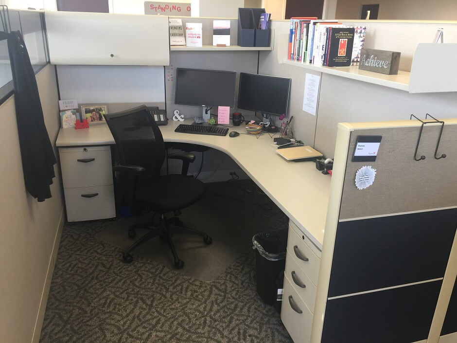 Used Knoll Dividends - Tall Panels - Used Cubicles