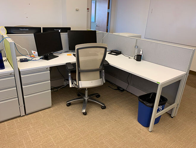 Used AIS Divi - Low Panels - Used Cubicles