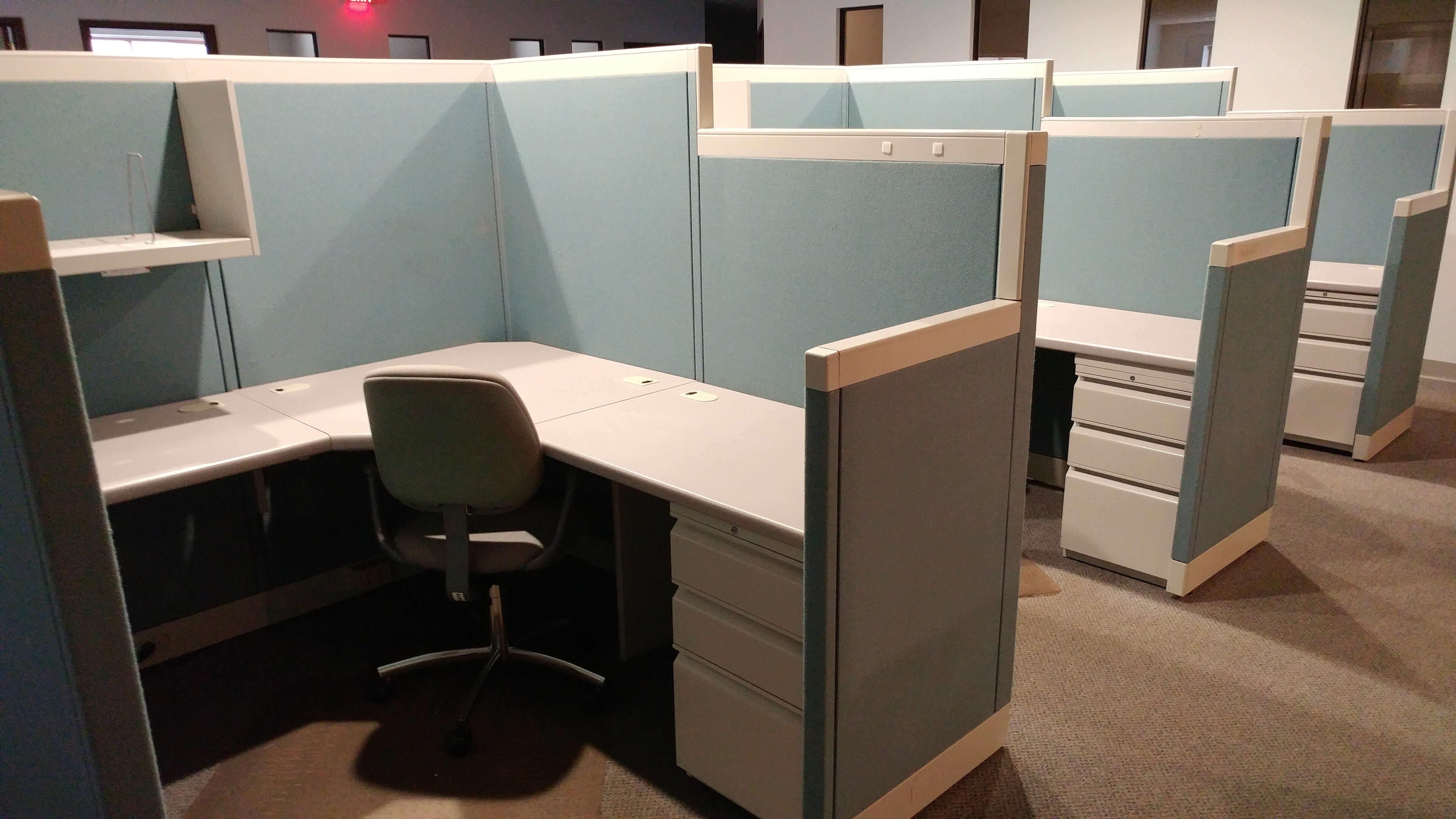 Used Allsteel Concensys - Combo Panels - Used Cubicles