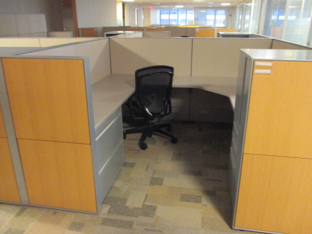 Haworth Compose - Used Cubicles