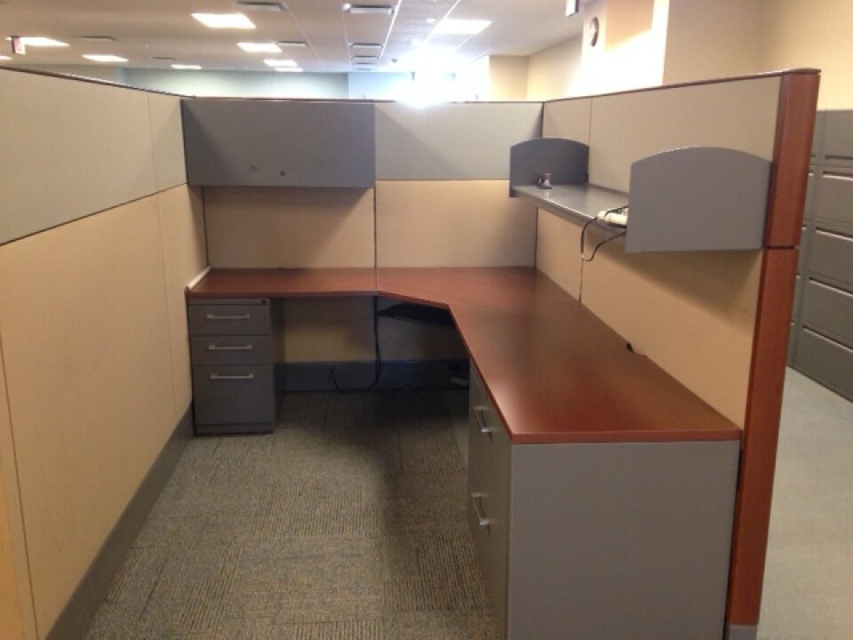 Used Haworth Premise 6x8 Tall Panels Used Cubicles