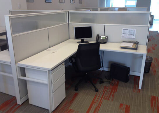 Miller Office Furniture - Used Office Cubicles - Used Cubicles