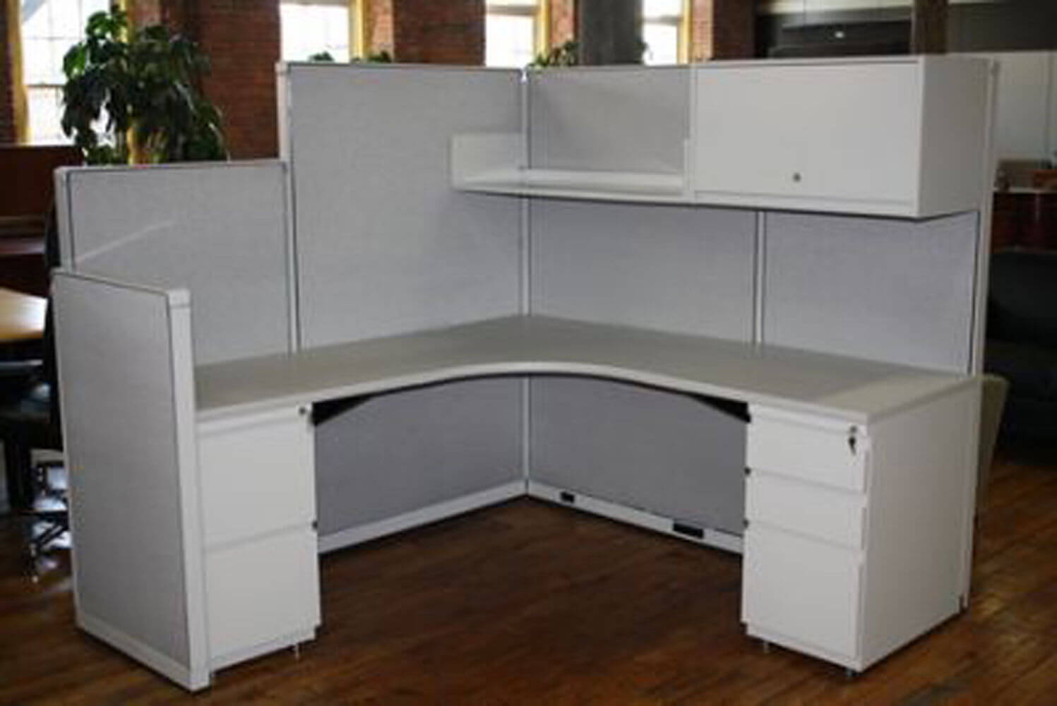 Used Steelcase 9000 6x6 Combo Panels Used Cubicles