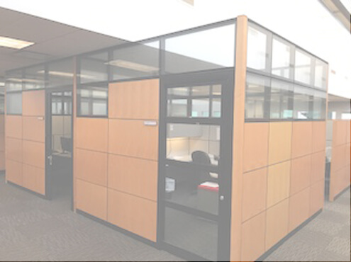 Used Steelcase Montage 10x8 Tall Panels Used Cubicles